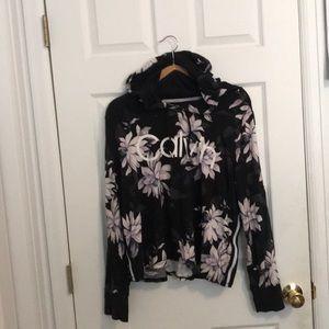 Calvin Klein Performance Floral Sweater